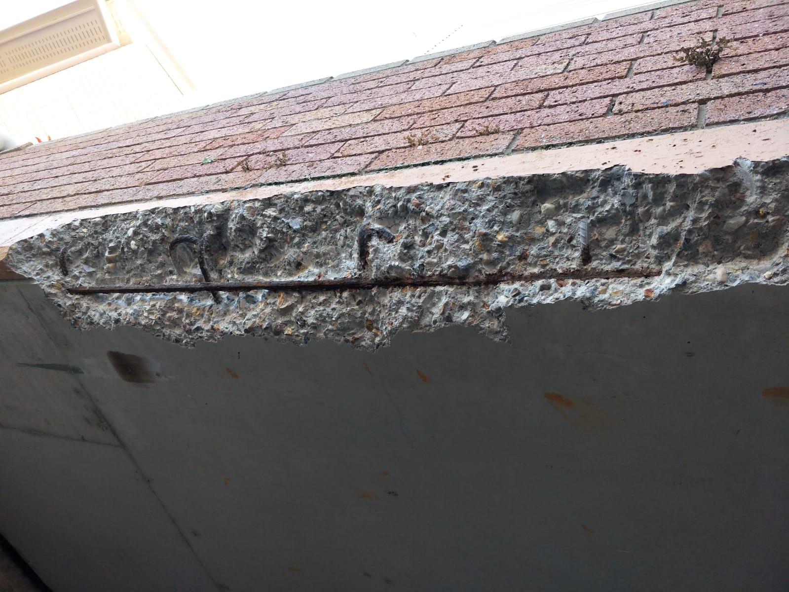 Concrete Cancer on a building