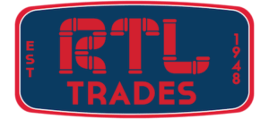 RTL Trades official plumbing logo